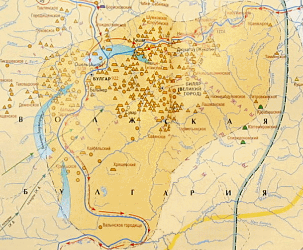 И еще разные карты: Волжская