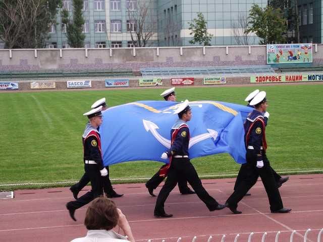 вынос флага