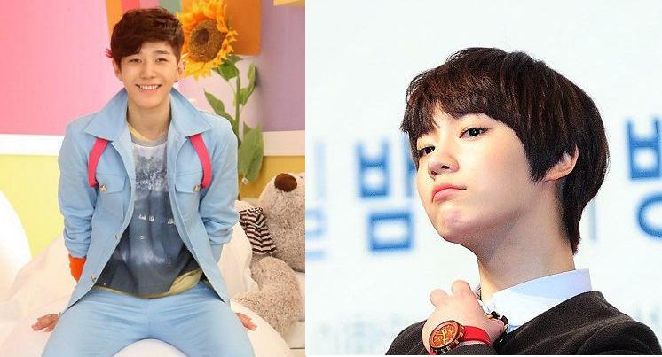 В ролях одноклассников близняшки слева Пэ Мён Джин - брат справа Пэ Да Бин - сестра