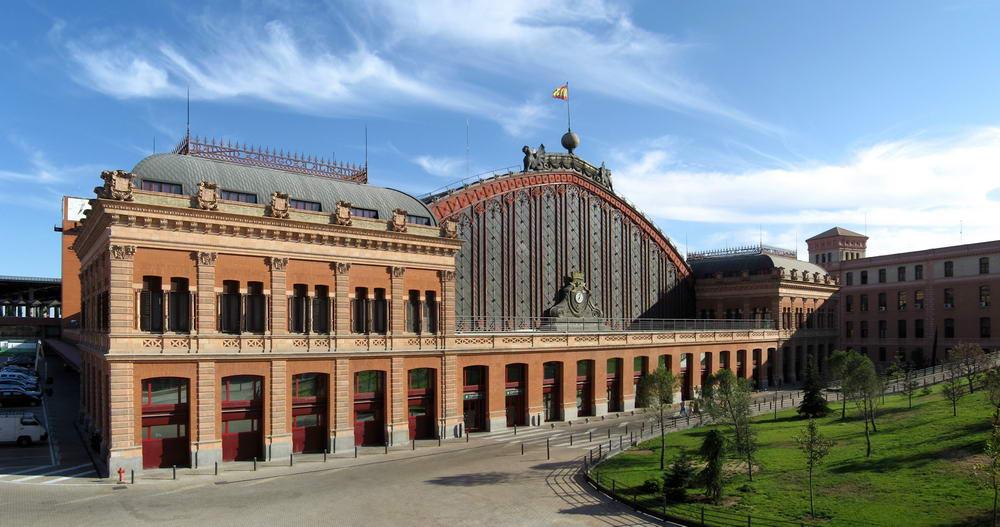Железнодорожный вокзал Аточа. Мадрид - если ссылка не найдена