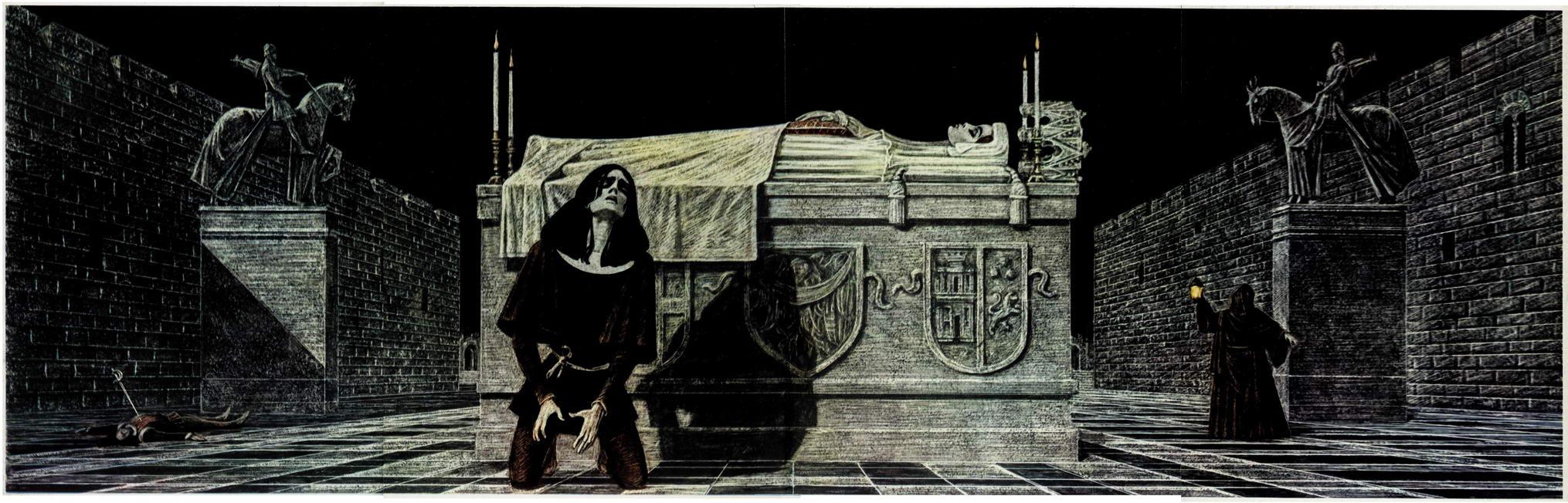 Одна из иллюстраций первой книги - если ссылка не найдена