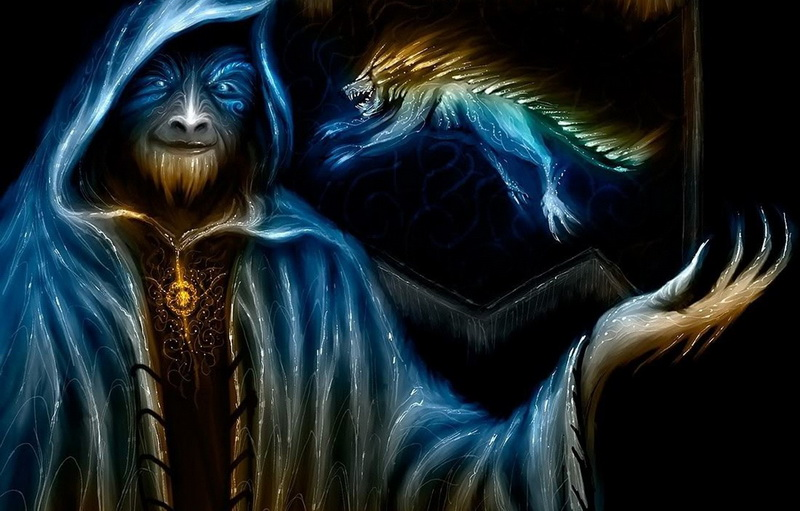 Маг. Хозяин главгероя. Рабочая форма