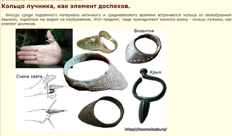 Кольцо лучника - если ссылка не найдена