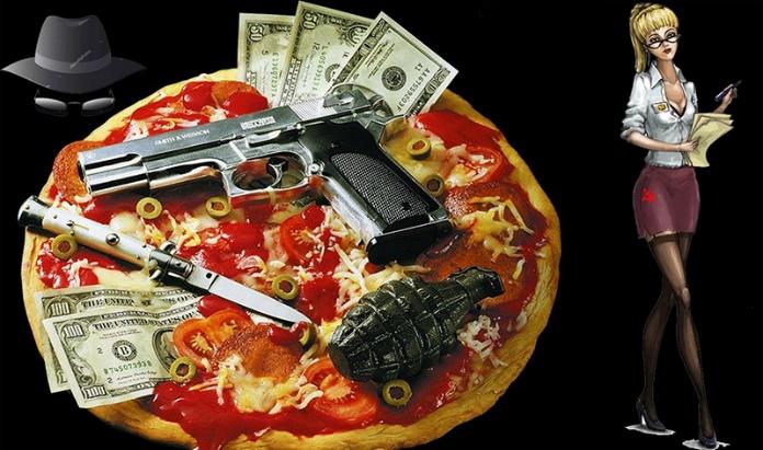 Дрочат, разносчица пиццы попала на толпу негров