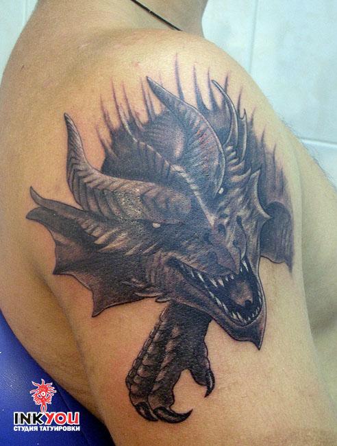 Татуировки драконов значение