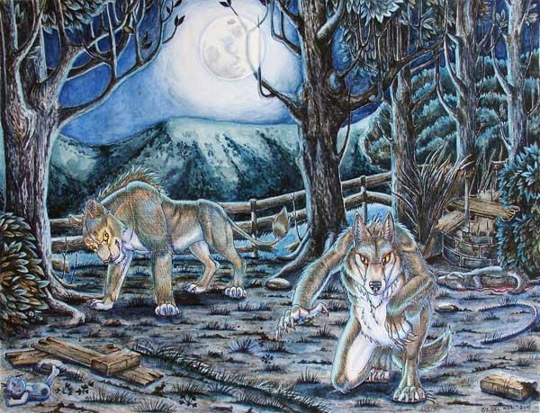 Иллюстрация к: Отрывок главы «кровавая ночь» или пир для двоих (z-glava-krovavaya-noch)