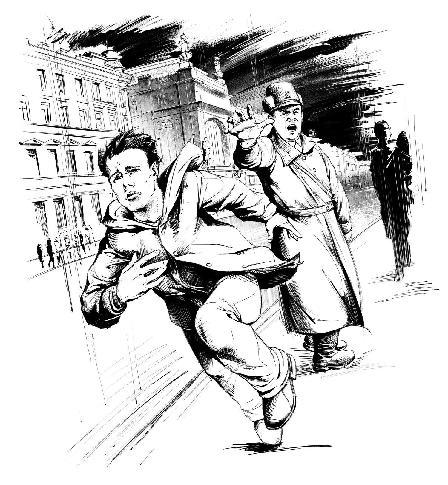 Побег от милиции []