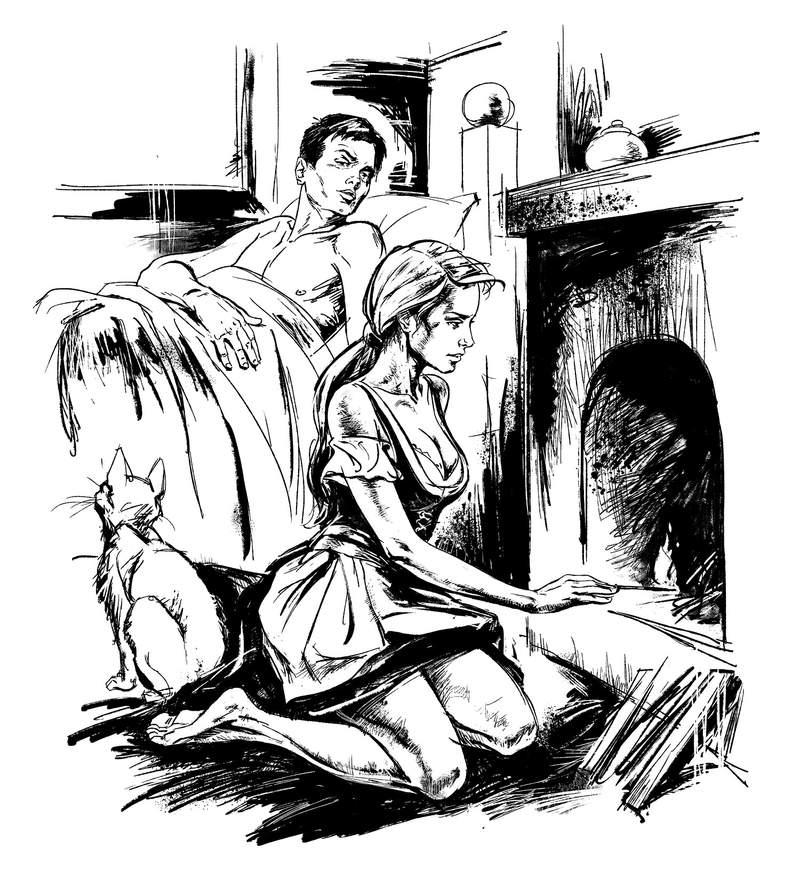 Секс сгорячой горничной