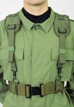 Тип: Тактическое снаряжение Ременно-плечевая система М50 на фигуре.