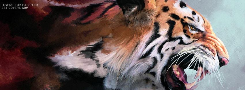 Рисованные сексуальные тигрицы