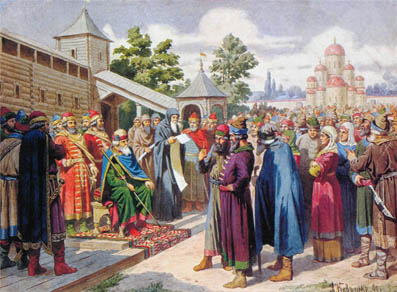Как появилось крепостное право на руси