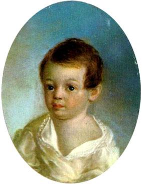 пушкин александр сергеевич детство фото