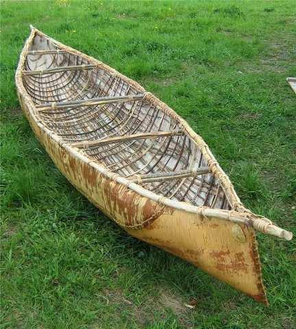 из чего делают лодки индейцы