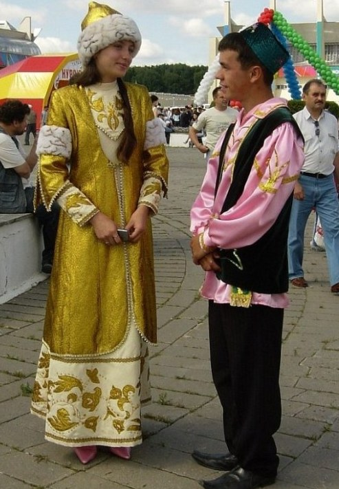 Картинки татарского костюма хохлома