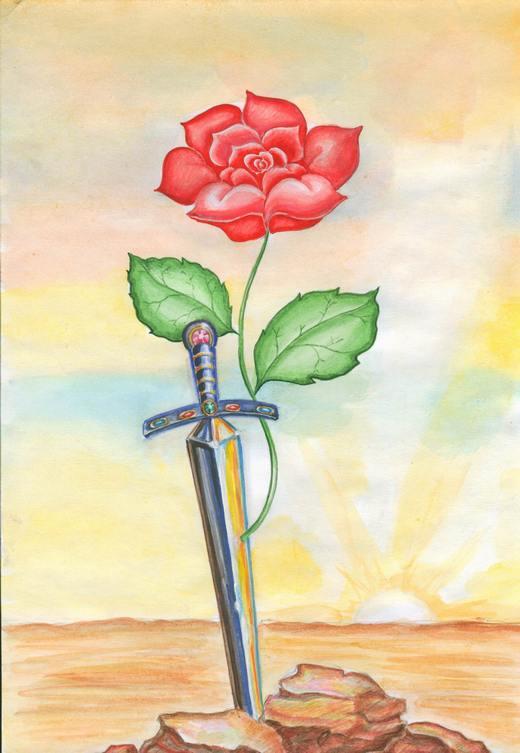 Меч и цветы 95