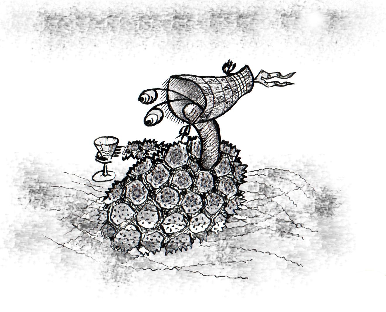 схема изготовления ловушки соломона для крота