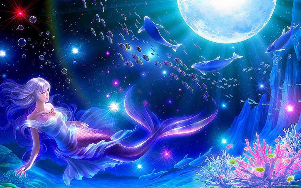 Fantasy mermaid wallpapers