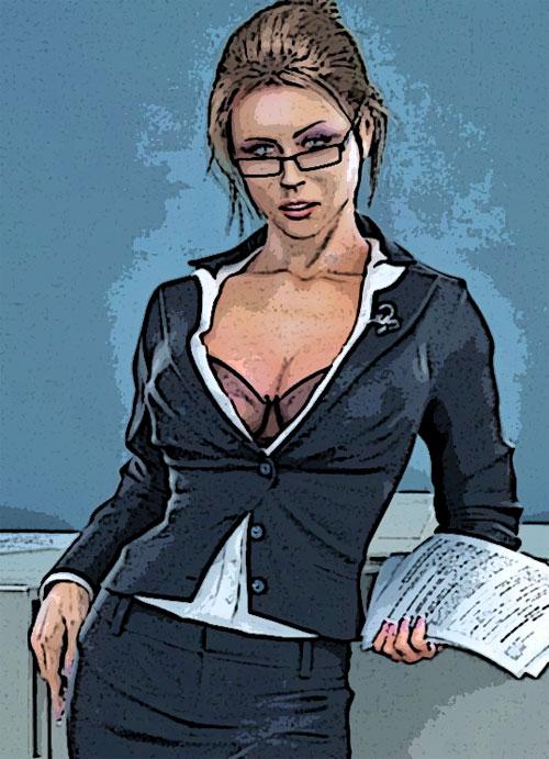 начальник с секретаршей
