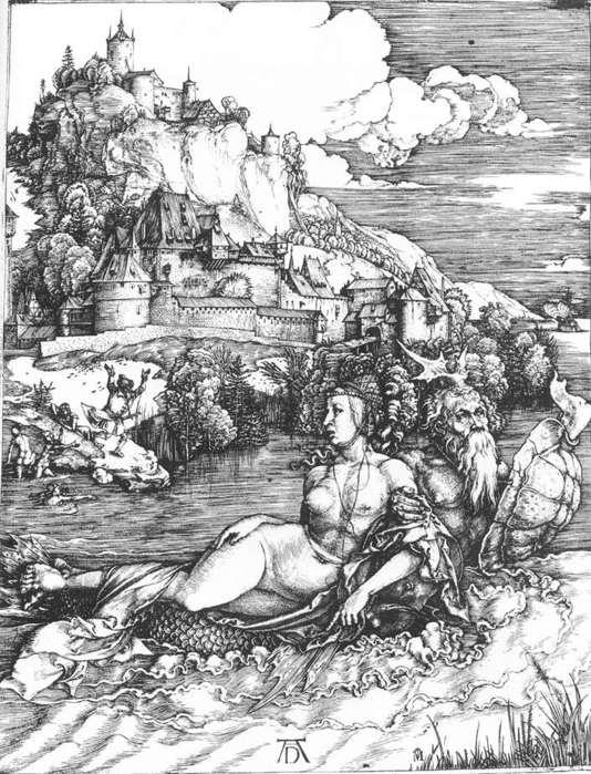 Картинки по запросу дюрер морское чудо