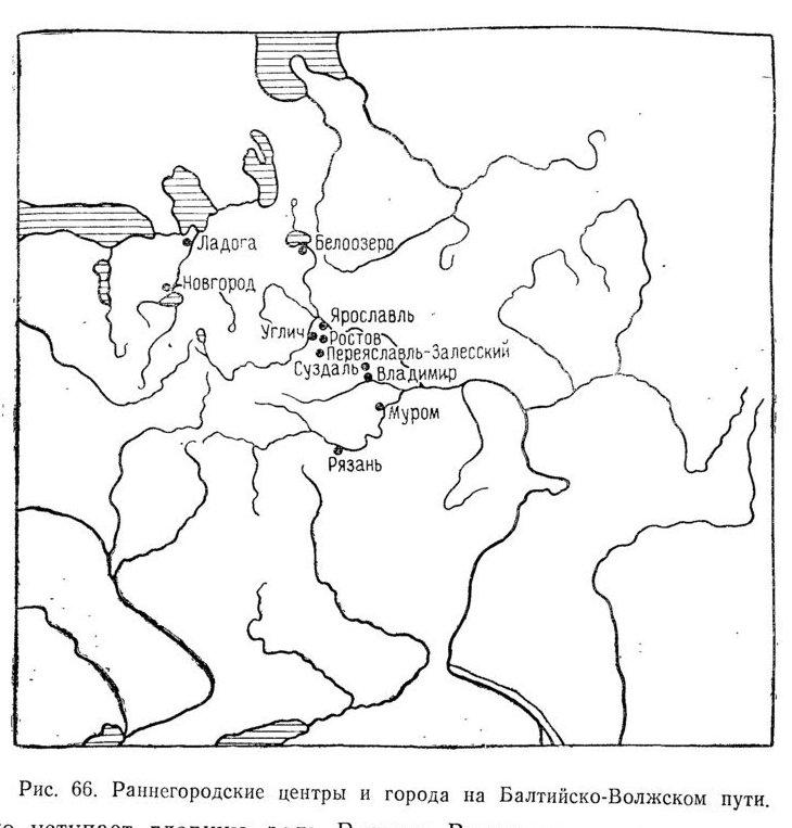 Балтики на нижнюю Волгу (с