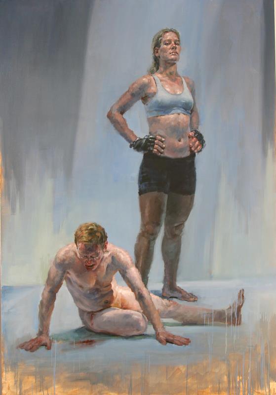 хозяйка и раб у и ее ног