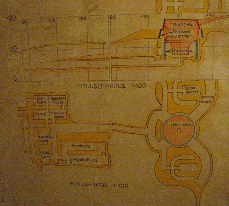 Схема бункера []