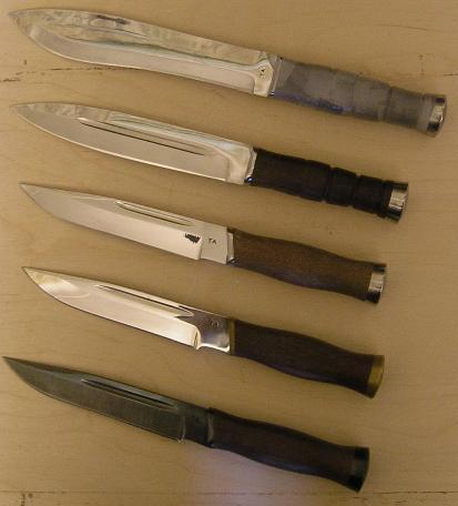 Нож повышенной убойной силы