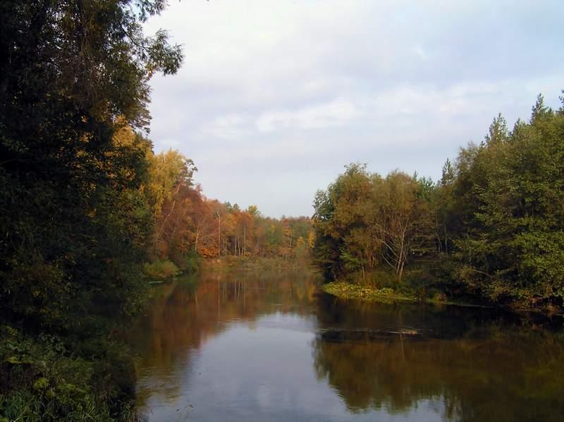 ЗолотаЯ осень на реке илеть - марий эл - кленоваЯ гора сайт .