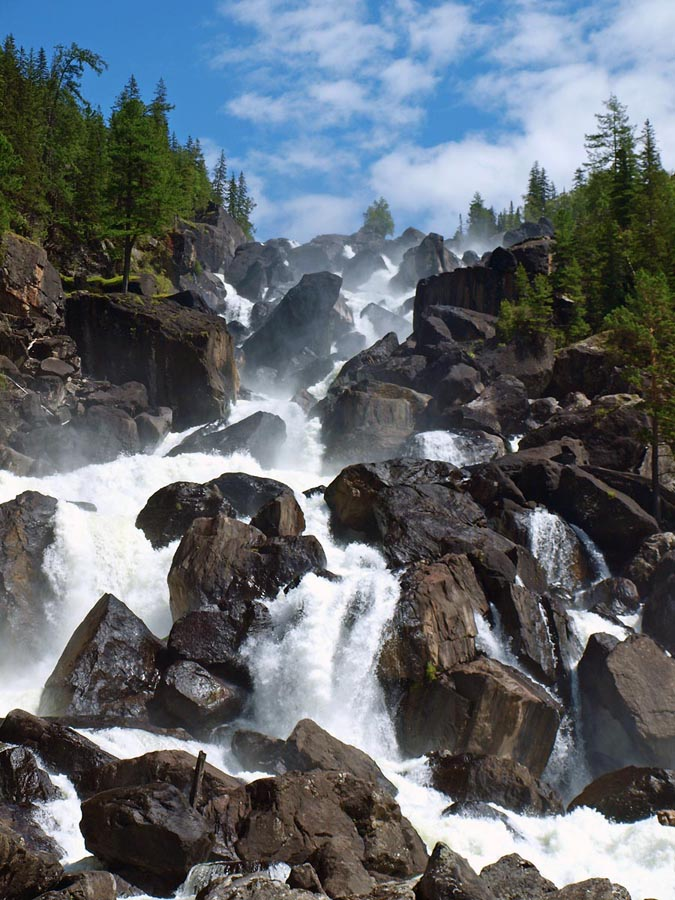 Водопады Алтая