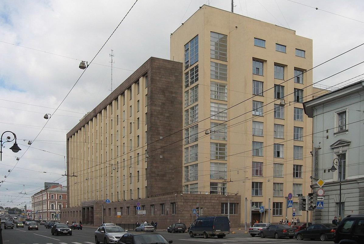 Литейный 4, Большой дом Павел Алексеевич Кучер