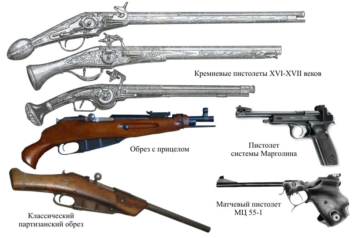 Обрезы и пистолеты [Павел Алексеевич Кучер]
