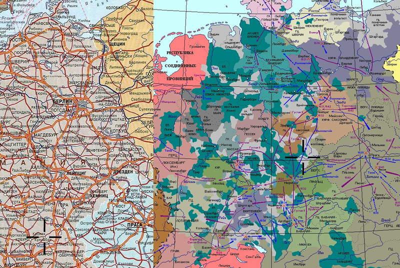 Карта Германии [Павел Алексеевич Кучер]