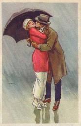 Стих танец под дождём