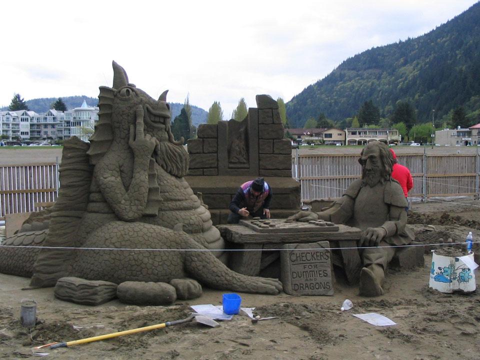 песчаная игра