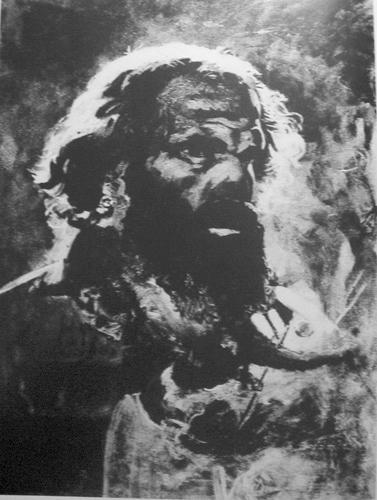 Голова Иуды. Фрагмент картины