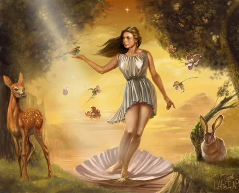 Богини древней Греции ( фото богиня, гера