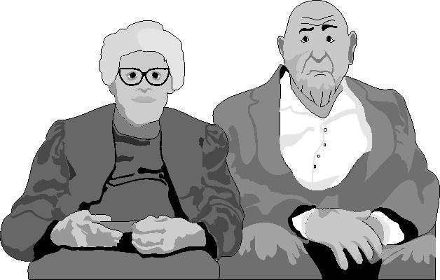 Пожилой ласкает невинную