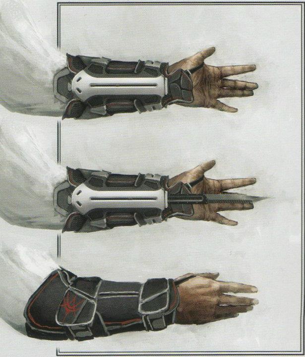 Скрытые клинки своими руками