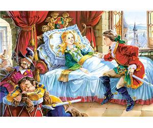 Сказка спящая красавица