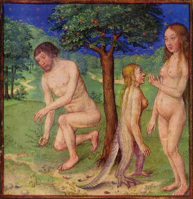 Секс ева и адам