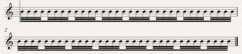 Sibelius Sibelius - ребра через такт проблема