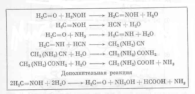аминокислоты глицина из