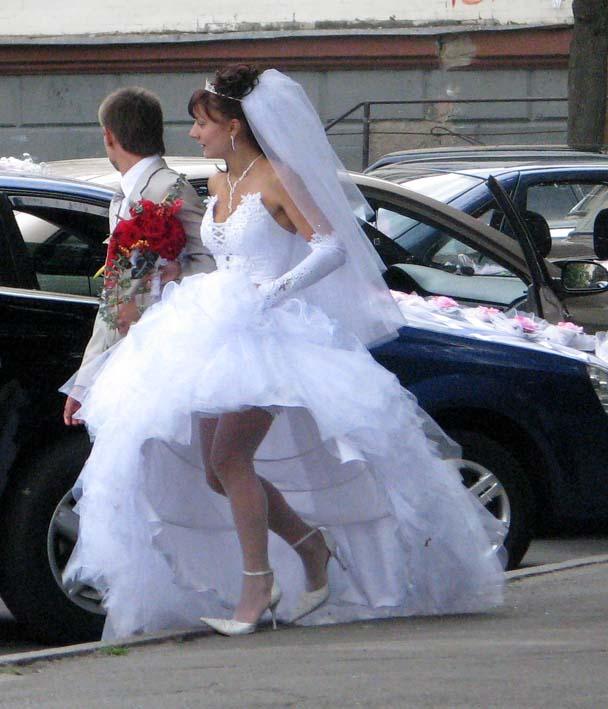 фото что под юбкой у невесты-чн1