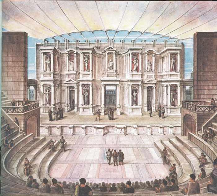 театр древеева рима