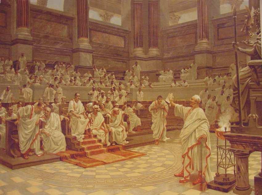 Цицерон цезарь мне позволь донесть