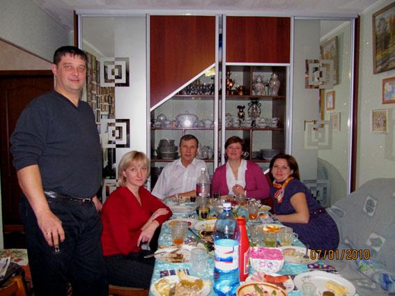 Рождественский ужин с элементами разврата
