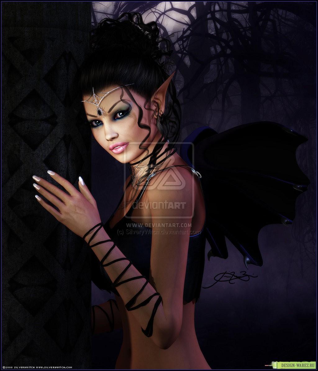 Фото красавицы вампирши 5 фотография
