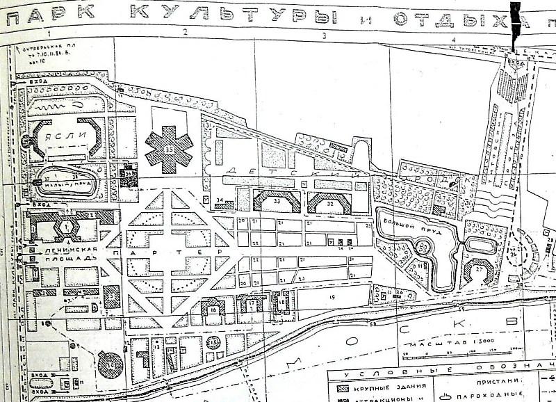 План партерной части 1929-1930