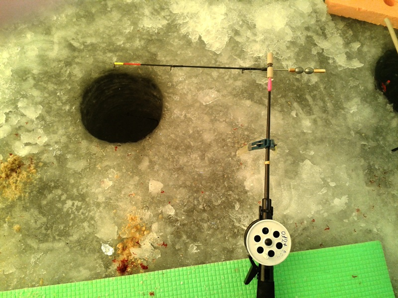 Зимняя рыбалка кивок своими руками