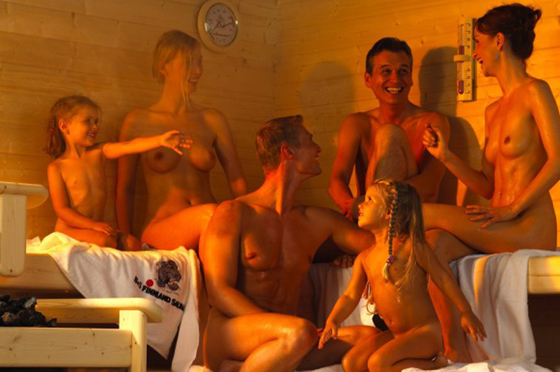 фото женской бани